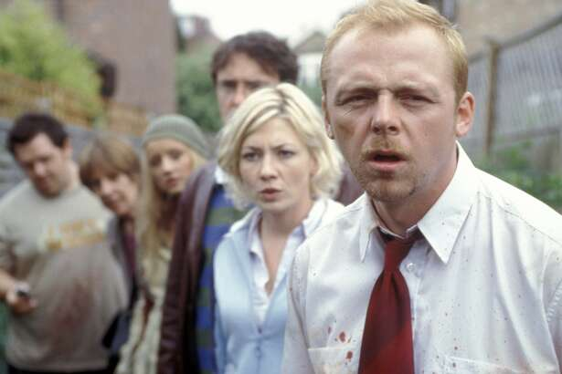 """Zombies invade London in the film """"Shaun of the Dead"""""""