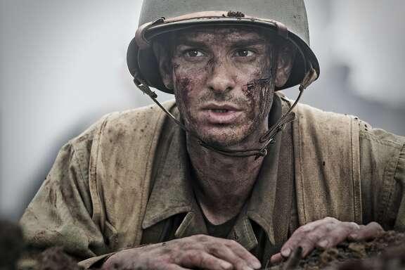 "Andrew Garfield in ""Hacksaw Ridge"""