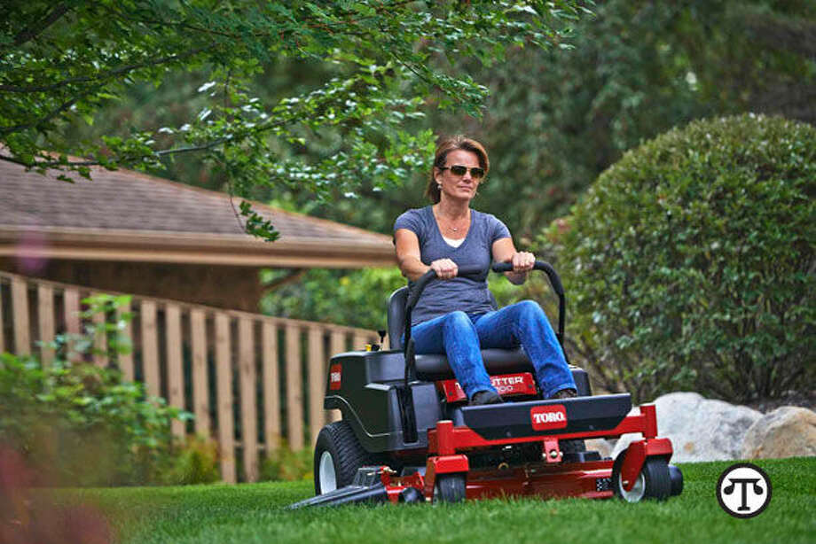 With the ability to cut tight contours, provide higher visibility to the operator and offer higher cutting speeds than lawn tractors, zero-turn mowers can decrease the time you spend mowing by 45 percent. (NAPS)