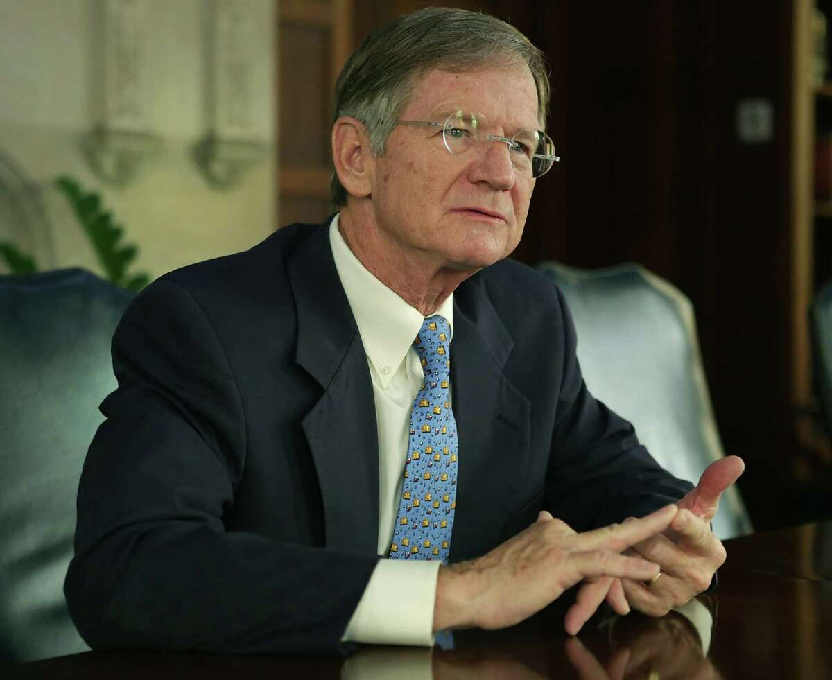 """U.S. Rep. Lamar Smith, R-San Antonio, seen here in a file photo, said Tuesday, Jan. 24, 2017, on the house floor that it is """"better to get your news directly from the president. In fact, it might be the only way to get the unvarnished truth."""""""