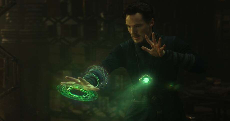 """Benedict Cumberbatch in the title role of """"Doctor Strange."""" Photo: Marvel"""