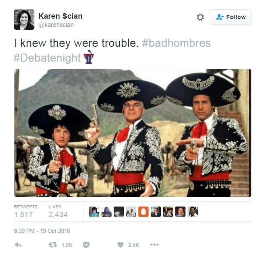 Trump S Bad Hombres Gaffe Becomes Immediate Social Media