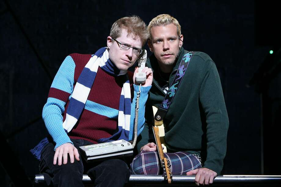 "Anthony Rapp and Adam Pascal reprise their original Broadway roles in the national tour of ""Rent."" Photo: Joan Marcus"