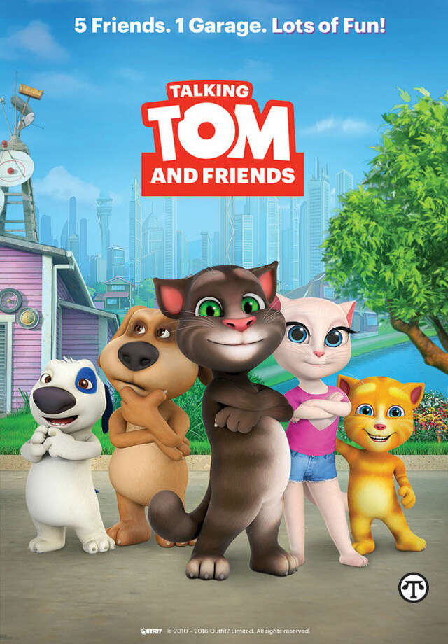 Talking Tom and Friends is a top-rated YouTube favorite for Gen Y & Z. (NAPS)