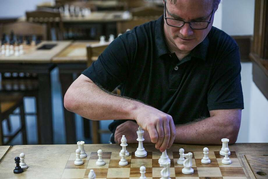 """John Donaldson of S.F., captain of the U.S. chess team and director of the chess room at the Mechanics' Institute, said the new rules were ill-conceived and implemented """"in a heavy-handed fashion."""" Photo: Gabrielle Lurie, The Chronicle"""