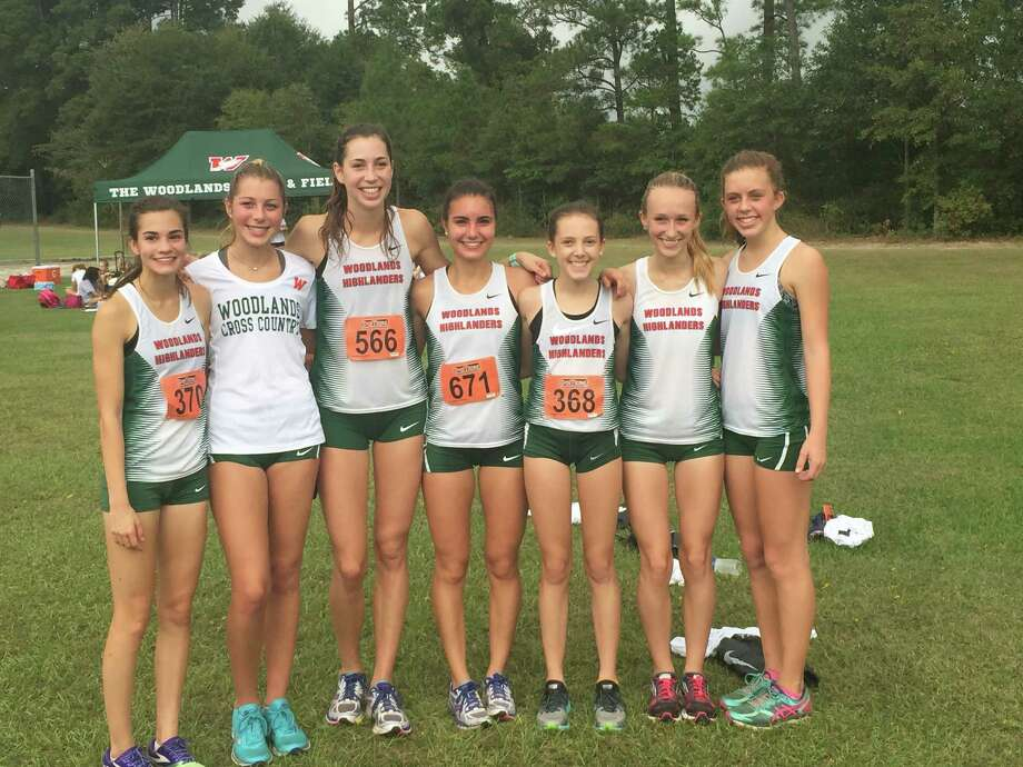 The Woodlands' girls cross country team won the District 12-6A title on Thursday in Lufkin. Photo: Contributed Photo