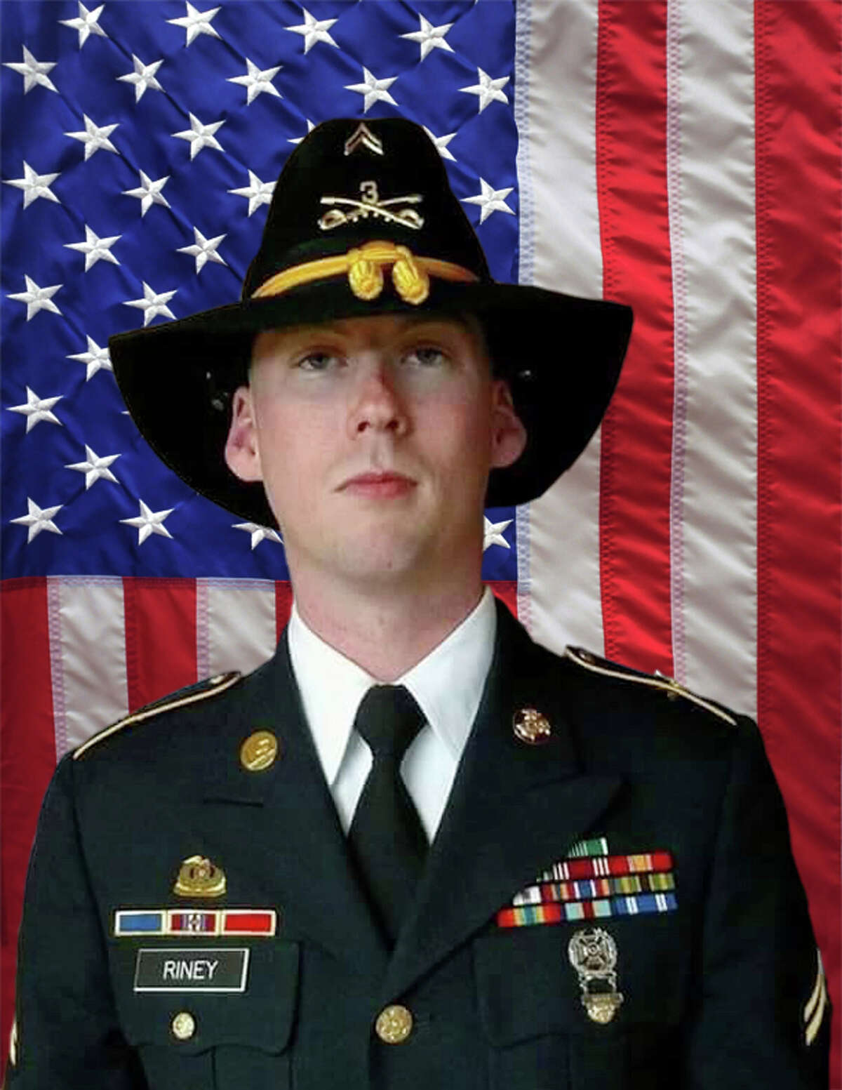 Sgt. Douglas J. Riney, 26, died in Kabul, Afghanistan, on Thursday.