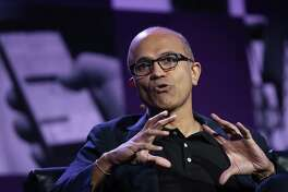 Microsoft's fiscal first-quarter results offered further validation of the strategy that CEO Satya Nadella has pursued since he took the top job.  2½ years ago.