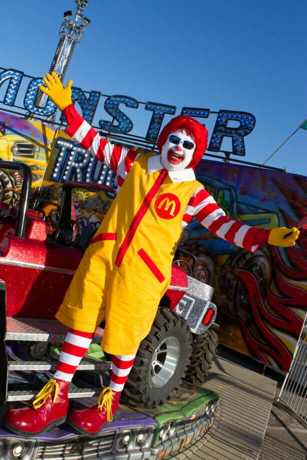 Ronald McDonald will bring smiles to children throughout the grounds for the Grand Opening of the WBCA Carnival Sponsored by McDonald's of Laredo. (Courtesy photo/WBCA)