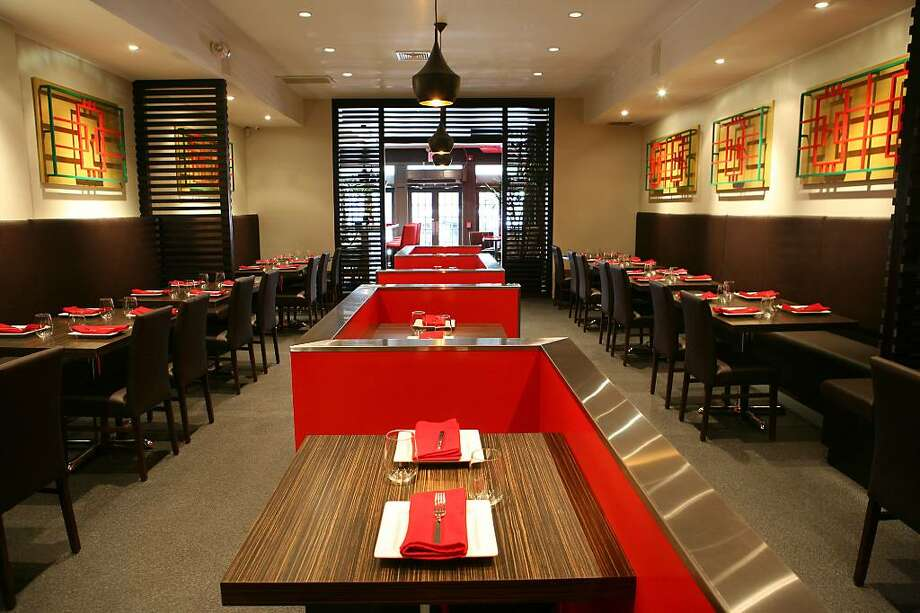 Nitesh Pundra, an information technology professional from Stamford, last week opened the a new Chines Mirch franchise, at 70-seat restaurant, with his friend Sundeep Cherlakola.  The dining room of Chines Mirch in Stamford. Photo: Contributed Photo / Stamford Advocate Contributed