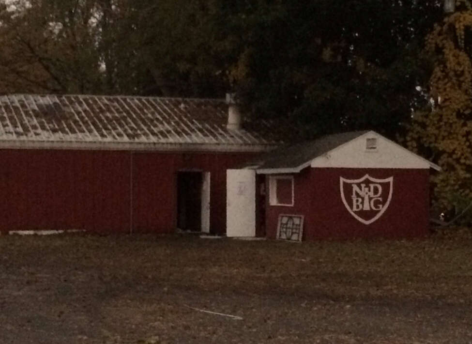 Uniforms, weight room equipment, field equipment and more were lost in an early morning fire at Notre Dame-Bishop Gibbons in Schenectady on Friday, Oct. 21. The roof was burned through.