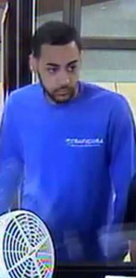 Police suspect this man stole a cellphone from a Bank of America branch in Stamford on Sept. 29. Photo: Contributed / Stamford Police Department
