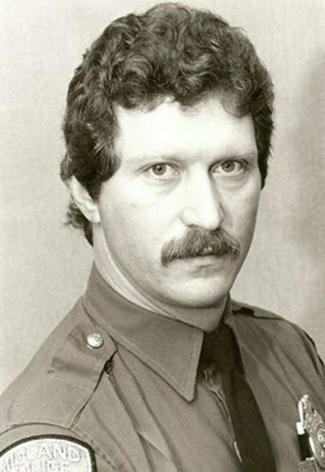 The Midland Police Department posted this photo of William Kerr, a retired patrolman with the department who was killed Thursday in a motorcycle-deer crash.