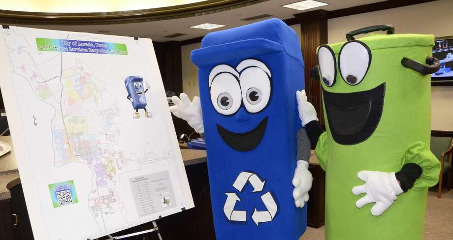 The City of Laredo is asking all customers to be patient as they continue to distribute the new Billie Bote recycling bins. The City of Laredo has 57,000 to distribute by the end of September for the October 3 start date. For more information, contact the recycling department at 795-2510 ext. 1127. (File photo by: Cuate Santos