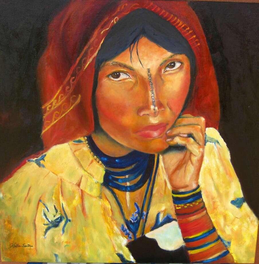Una obra de Raquel Valle-Sentíes. Ella hablará ante alumnos de LCC esta semana. (Imagen de cortesía)