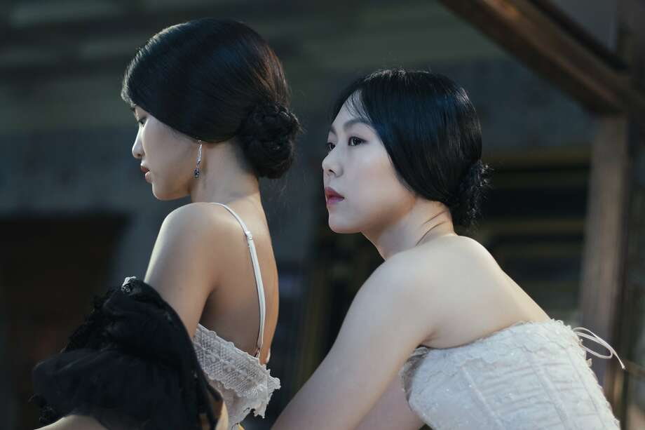 "Kim Tae-ri, left, and Kim Min-hee in ""The Handmaiden"" Photo: Amazon Studios / Magnolia Pictures"