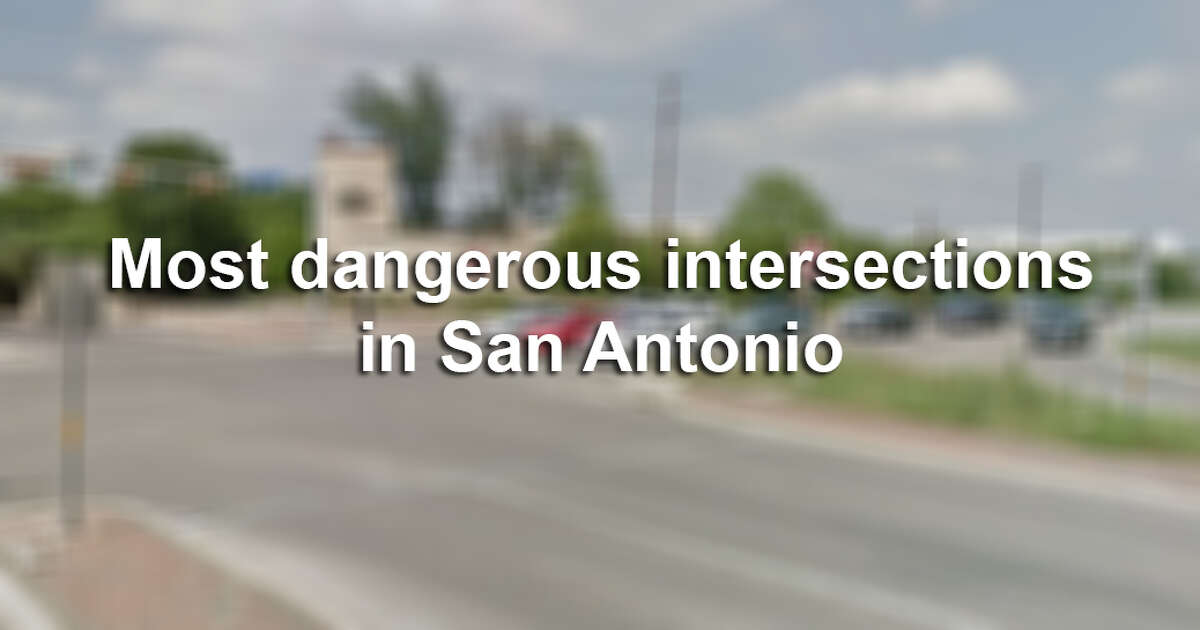 Intersections along San Antonio's Loop 410 and Loop 1604 are among the most dangerous in the state, according to a new report. Click ahead to see where S.A. drivers should exercise caution: