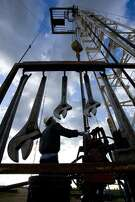 Workers on an Anadarko Petroleum drilling rig in Colorado. The company is eyeing the Permian Basin in West Texas for an expansion in its operations.