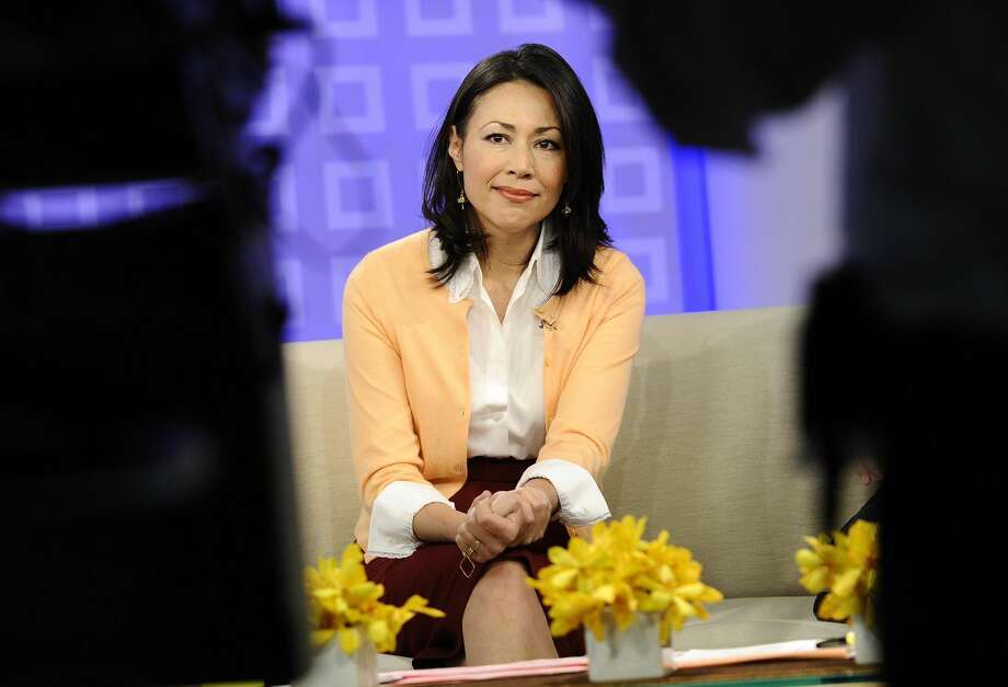 "This July 27, 2011 file photo released by NBC shows co-host Ann Curry on the ""Today"" show in New York. Curry offered a tearful goodbye as co-host of NBC's ""Today"" show on Thursday, June 28, 2012. Curry, who joined the show as a news anchor in 1997, will remain at NBC News to be anchor-at-large and national and international correspondent. (AP Photo/NBC, Peter Kramer)"