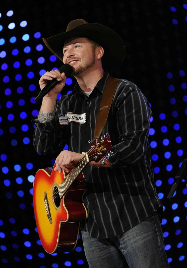 "This file photo originally provided by NBCUniversal shows Timothy Michael Poe on the talent competition show ""America's Got Talent,"" on the episode that aired on June 4, 2012. (AP Photo/NBC, Virginia Sherwood)"