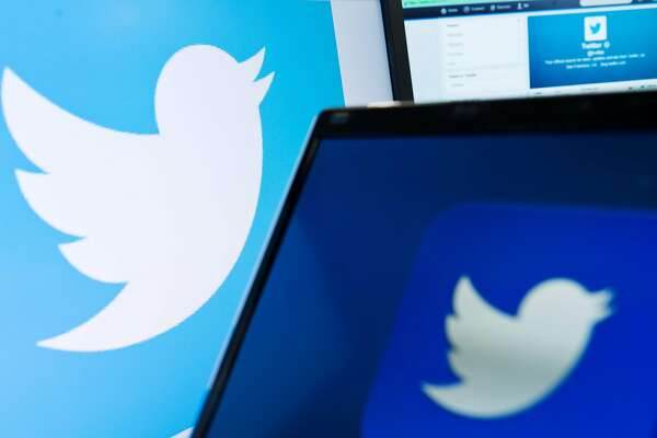 """(FILES) This file photo taken on September 11, 2013 shows the logo of social networking website 'Twitter'  displayed on a computer screen in London. Twitter on August 18, 2016 announced that it has cut off 235,000 more accounts for violating its policies regarding promotion of terrorism at the global one-to-many messaging service. The latest account suspensions raised to 360,000 the total number of accounts sidelined since the middle of 2015 and was helping """"drive meaningful results"""" in curbing the activity, according to the San Francisco-based company.  / AFP PHOTO / LEON NEALLEON NEAL/AFP/Getty Images"""