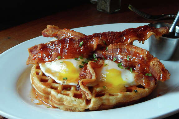 Urban Eats restaurant at 3414 Washington has started a new weekday breakfast program from 8 to 11 a.m. A new breakfast menu has been created. Shown: Buttermilk waffles.