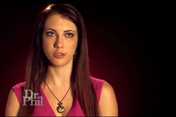 Former teacher Mary Beth Haglin is pictured in this image from the Dr. Phil show.