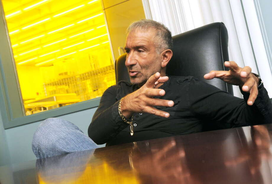 Alain Kaloyeros back in 2012 talking about one of the SUNY Poly projects in Buffalo.   (Michael P. Farrell/Times Union) Photo: Michael P. Farrell / 00020390A