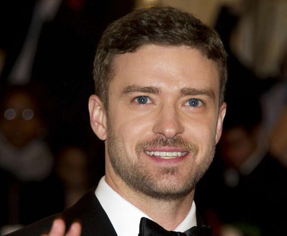 This May 7, 2012 file photo shows singer-actor Justin Timberlake at the Metropolitan Museum of Art Costume Institute gala benefit in New York. (AP Photo/Charles Sykes, file)