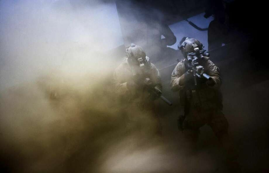"""This film image released by Columbia Pictures shows a scene from """"Zero Dark Thirty,"""" directed by Kathryn Bigelow. The film was nominated for an Academy Award for best picture on Thursday, Jan. 10, 2013. The 85th Academy Awards will air live on Sunday, Feb. 24, 2013 on ABC. (AP Photo/Sony - Columbia Pictures)"""