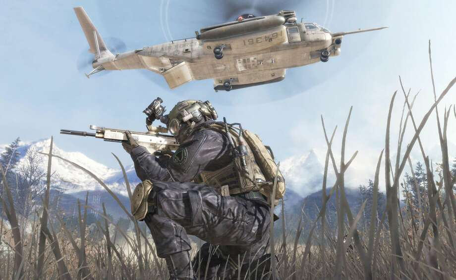 "In this undated video game image released by Activision, a scene from ""Modern Warfare 2"" is shown. The makers of ""Call of Duty: Modern Warfare 2"" and game publisher Activision Blizzard Inc. have agreed Thursday to an undisclosed settlement for a lawsuit filed by Jason West and Vincent Zampella, the former heads of game studio, Infinity Ward, for wrongful dismissal and bonuses based on the game's profits. (AP Photo/Activision, File)"