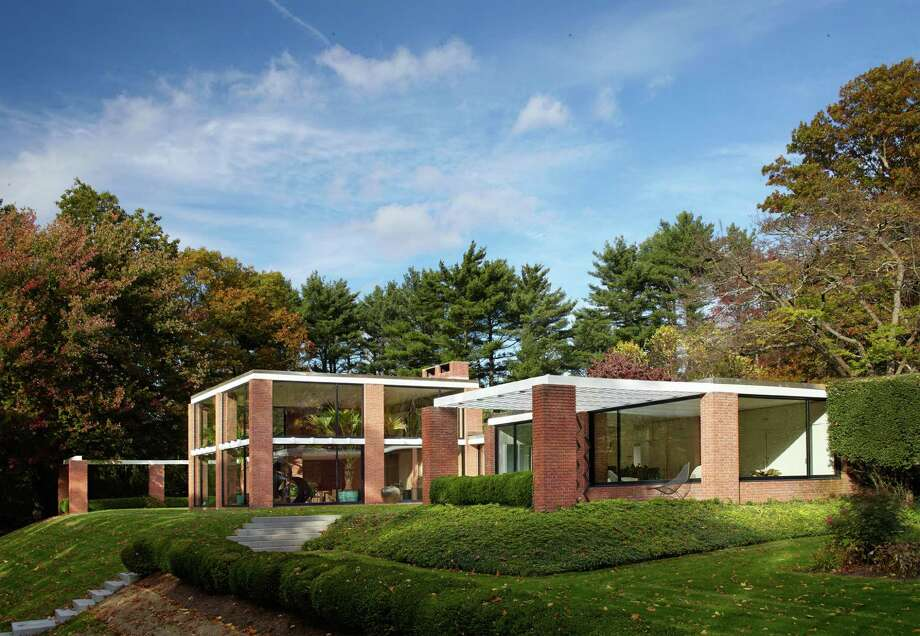 "The Boissonnas House in New Canaan will be part of ""Philip Johnson's New Canaan,"" an Oct. 22 tour of homes designed by Johnson. Photo: Contributed /Michael Biondo / Hearst Connecticut Media / New Canaan News"