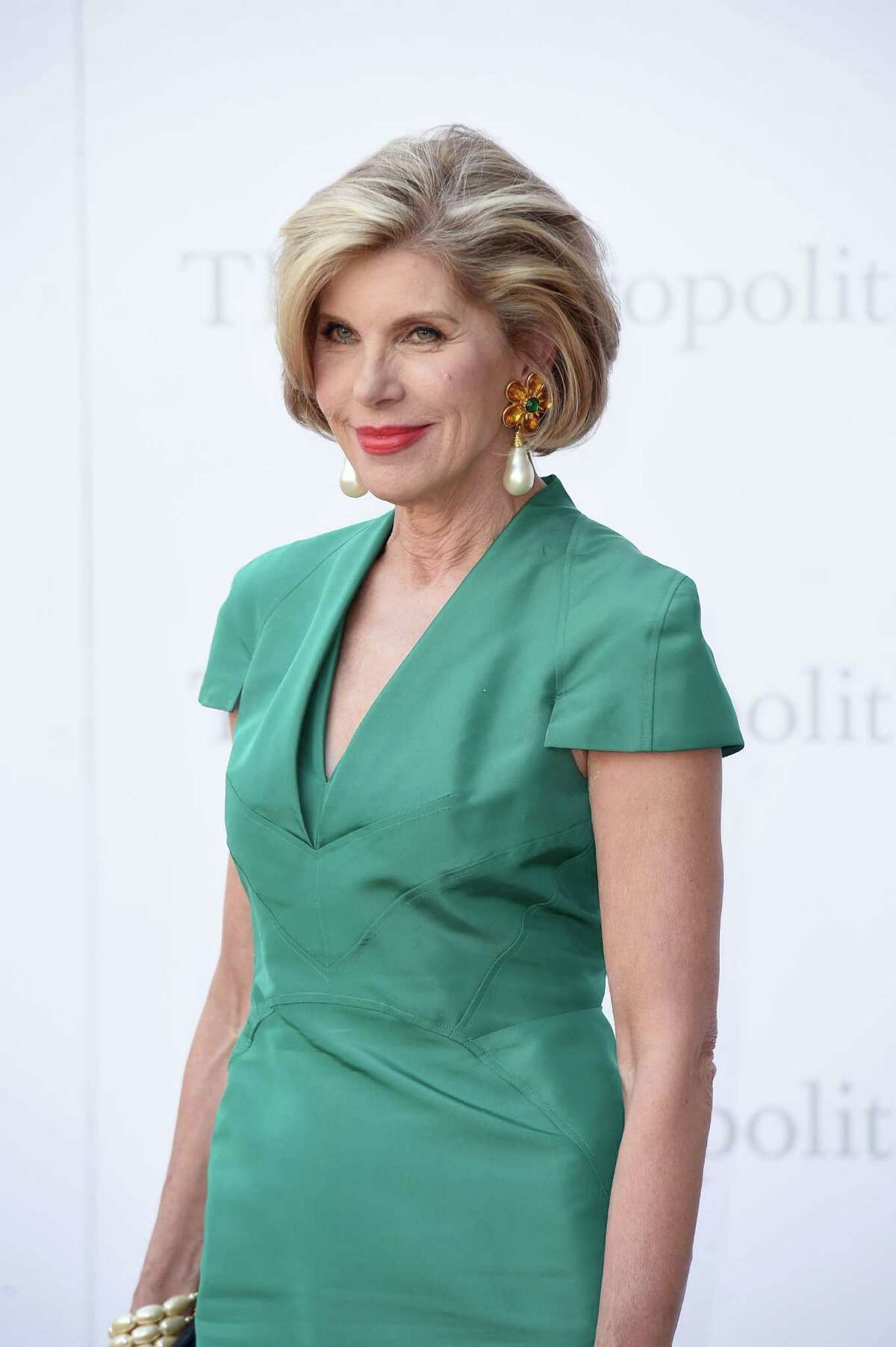 """NEW YORK, NY - SEPTEMBER 26: Christine Baranski attends the Met Opera 2016-2017 Season Opening Performance of """"Tristan Und Isolde"""" at The Metropolitan Opera House on September 26, 2016 in New York City. (Photo by Nicholas Hunt/Getty Images)"""