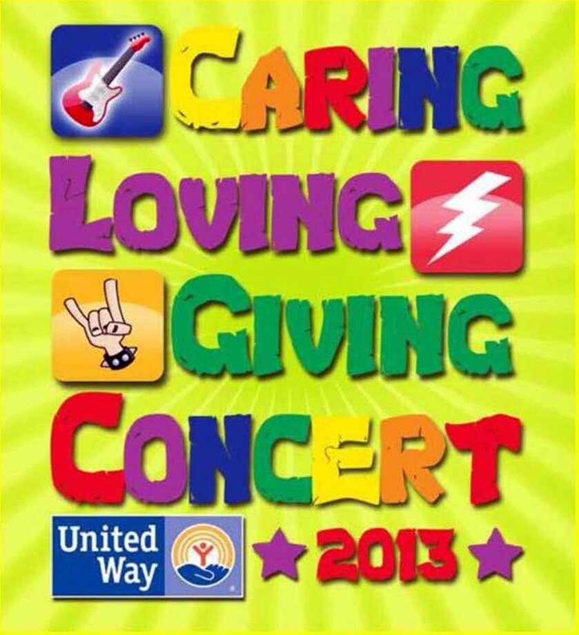 La imagen muestra el logotipo con el que United Way invita a la comunidad a un concierto para recaudar fondos. (Foto de cortesía)