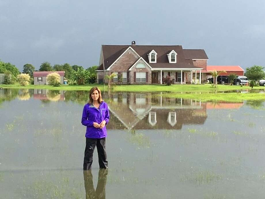 NBC News' Janet Shamlian has covered every type of news story, including hurricanes and floods. Photo: NBC