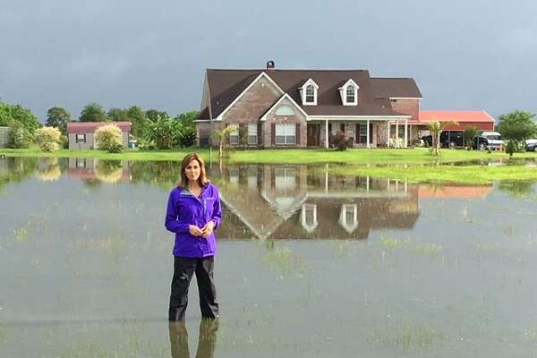 NBC News' Janet Shamlian has covered every type of news story, including hurricanes and floods.