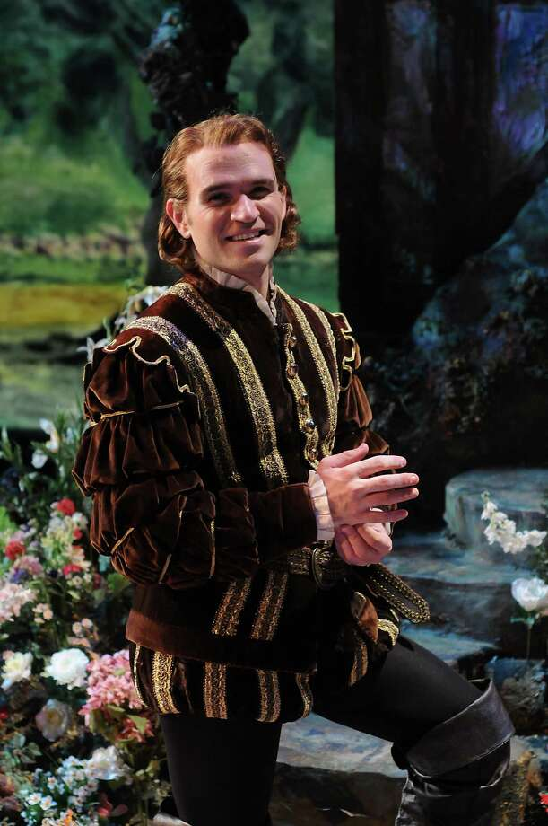 Michael Fabiano as Faust  on the set of Faust at the Wortham Theater Friday Oct. 14, 2016. (Dave Rossman Photo) Photo: Dave Rossman, Freelance / Dave Rossman