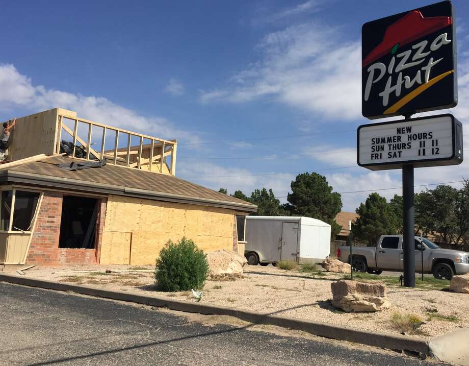 Pizza Hut on Andrews Highway is temporarily closed for an updated look and increased service options.