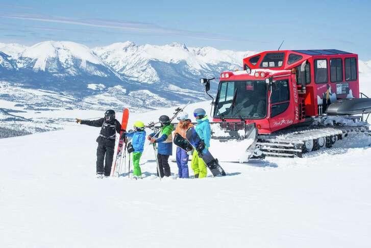 Keystone Adventure Tours Cat Skiing