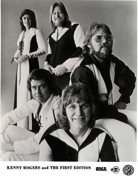 Folk Rock Group Kenny Rogers And The First Edition Featured Clockwise From Top Left Thelma Camacho Mickey Jones Terry Williams Mike