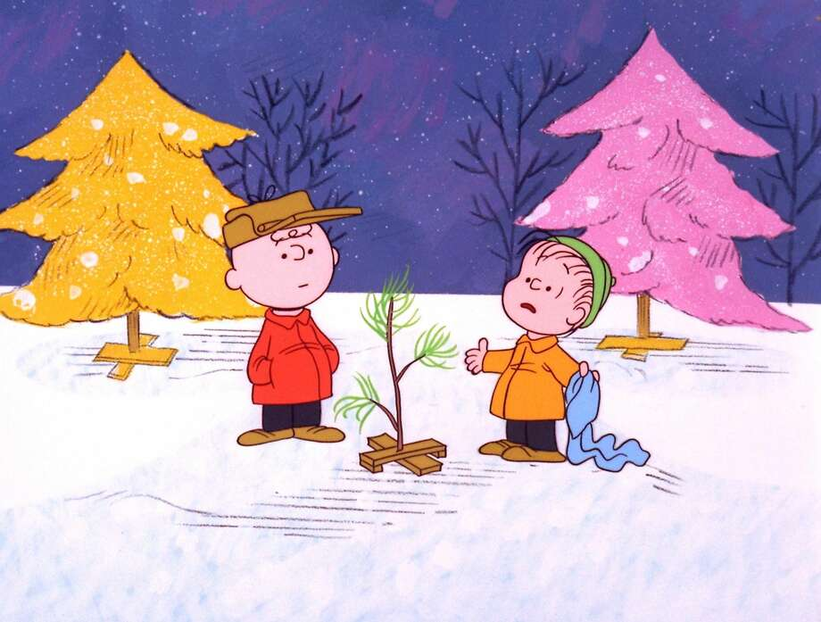 "In this file image originally provided by United Feature Syndicate Inc. VIA ABC TV, Charlie Brown and Linus appear in a scene from ""A Charlie Brown Christmas,"" a television special based on the ""Peanuts"" comic strip by Charles M. Schulz. Schulz' comic-strip and cartoon characters will star in their own animated film scheduled to hit theaters Nov. 25, 2015. (AP Photo/ABC, 1965 United Feature Syndicate Inc., File)"