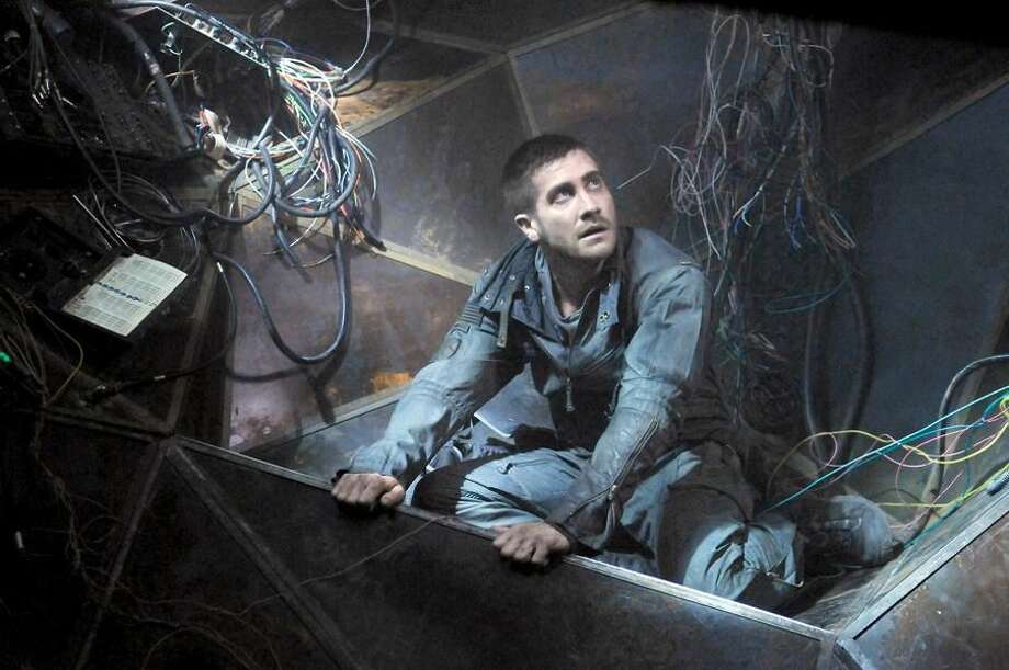 "Jake Gyllenhall stars in the science action thriller ""Source Code."""