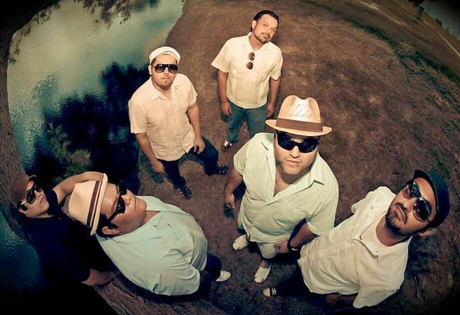 Courtesy photo Nuevo Laredo's Umano Aché, a six-member band that specializes in genre fusion, will play alongside the Grammy winners of Grupo Fantasma at Average Joe's Friday night (April 1). Tickets are $7.
