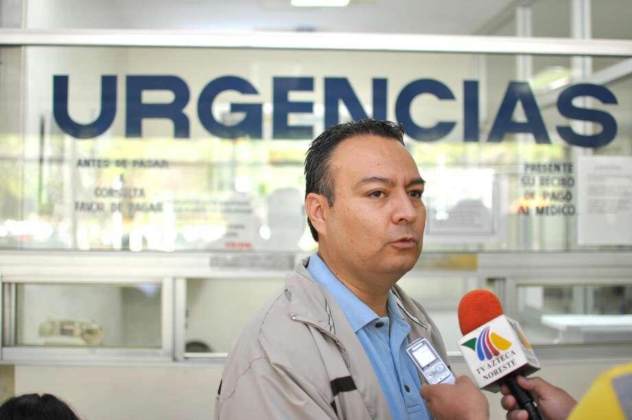Ulises Ochoa, director de Protección Civil y Bomberos en Nuevo Laredo, México. (Foto de cortesía)