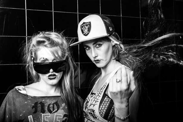CocoRosie performs at the Regency Ballroom on Sunday, Oct. 30.