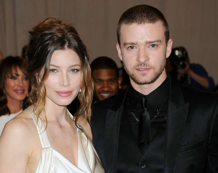 This May 3, 2010 file photo shows actress Jessica Biel and actor-singer Justin Timberlake at the Metropolitan Museum of Art Costume Institute gala in New York. The couple released a statement Friday, Oct. 19, 2012, to People magazine confirming their wedding. They said the ceremony was beautiful and it was special to be surrounded by our family and friends. (AP Photo/Evan Agostini, file)