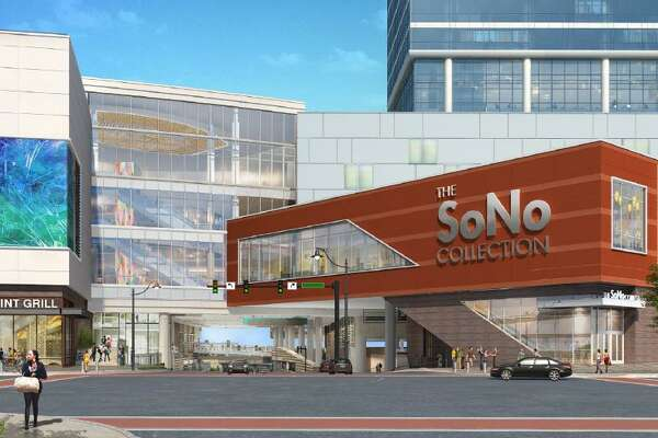 General Growth Properties has proposed the above design for The SoNo Collection.