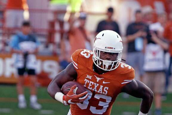 Texas' D'Onta Foreman, the nation's second-leading rusher, will try to keep the Longhorns going in the right direction against Kansas State.