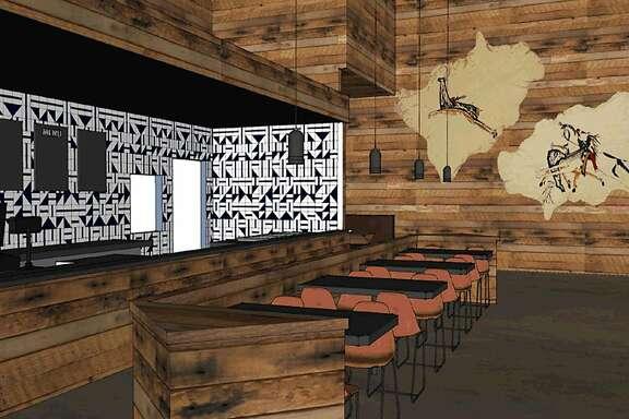 An interior rendering of Werewocomoco