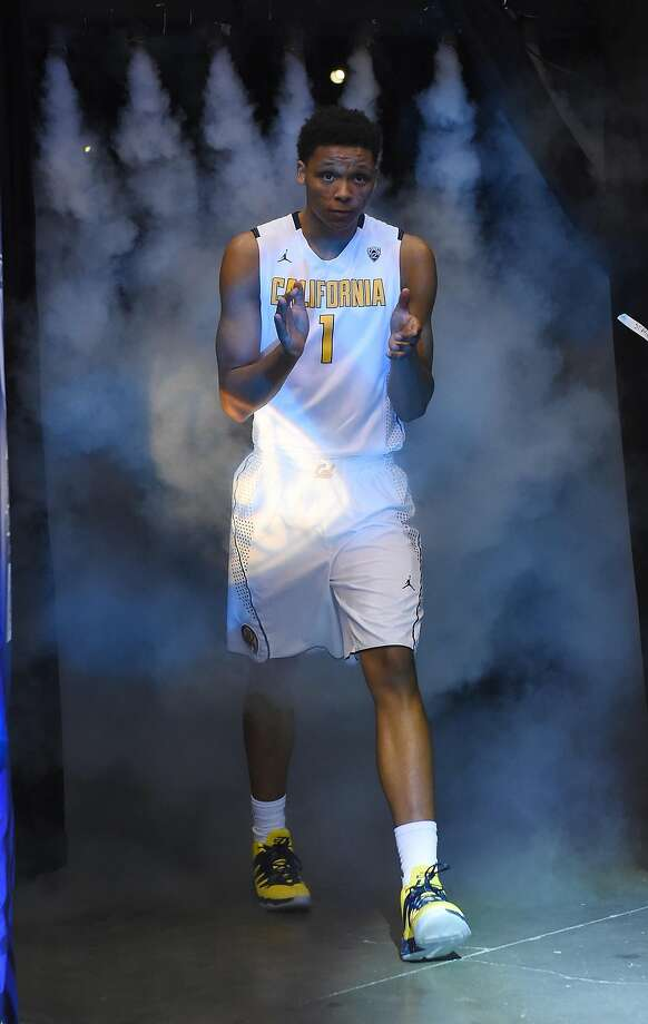 Ivan Rabb of the California Golden Bears is introduced before the team's quarterfinal game of the Pac-12 Basketball Tournament against the Oregon State Beavers at MGM Grand Garden Arena on March 10, 2016 in Las Vegas, Nevada. Photo: Ethan Miller, Getty Images